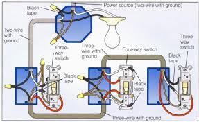 wiring a 4 way switch an error occurred