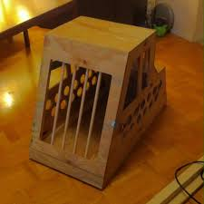 How to make a dog crate Crate Cover Picture Of And There It Is Instructables Wooden Car Crate For Dogs Steps with Pictures