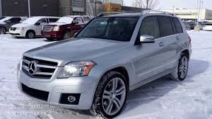 Pre Owned 2011 Silver Mercedes Benz GLK 350 4Matic Edmonton - YouTube