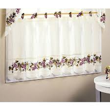Grape Kitchen Curtains