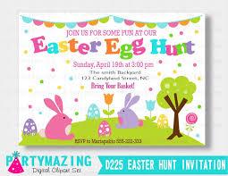 Easter Egg Hunt Invitation Magdalene Project Org