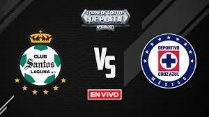 Santos vs Cruz Azul Liga MX LIVE ...