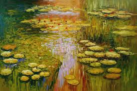 66 many a monet oil