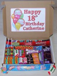 happy birthday personalised sweet gift box present 18th 21st 30th 40th 50th etc ebay
