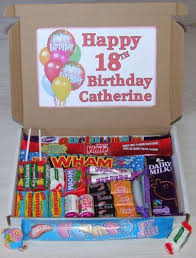 happy birthday personalised sweet gift box present 18th 21st 30th 40th 50th etc ebay