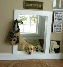 Check out these house mods for pets at the myWebRoom Blog! #Dogs #DIY