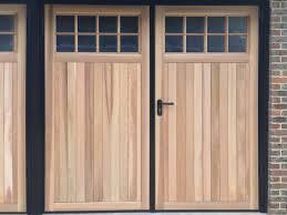garage doors side hinged