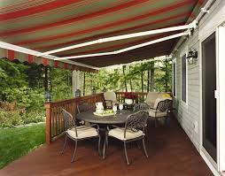 deck awning ideas permanent awnings indoor and in backyard designs 9