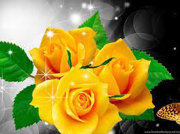 Roses Butterfly Wallpapers - Wallpaper Cave
