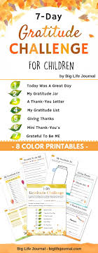 How To Teach Children To Be Grateful 7 Day Gratitude