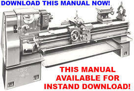 cincinnati 16 18 20 24 lathe installation operation parts includes electrical diagrams this manual is available for instant if your machine looks like this photo just click add to cart