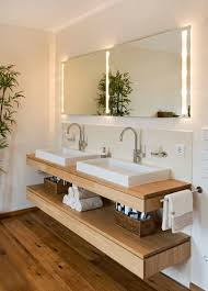 bathroom design store. Bathroom Design Ideas - Open Shelf Below The Countertop // Dual Sinks Sit Above A Store