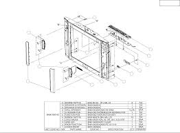 6 exploded view parts list