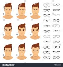 Glasses shapes for men Types of eyeglasses for different man face   square triangle