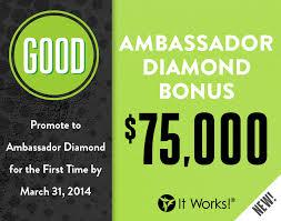 It Works Diamond It Works Get Out Of Debt Bonuses Are Back Angelia Hoffman