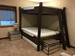 queen bunk bed with trundle. Plain With Queen Over Queen Bunk With A Trundle Custom Made By  ParkcityBunkBedscom Learn More In Bunk Bed With Trundle N