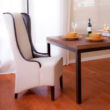 howard beige tall dining chair modern dining room