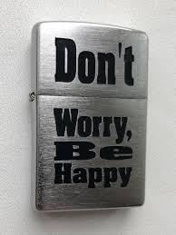 <b>Зажигалка Zippo</b> 200 <b>Don</b>'<b>t Worry</b> Zippo 12726736 в интернет ...