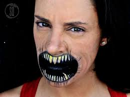 easy devil mouth makeup effect tutorial easy devil mouth makeup effect tutorial