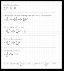 wolfram alpha understands the convention that the variable for math problems is typically x if we don t specify the variable with respect to which we are