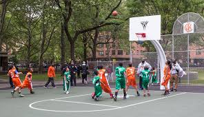 carmelo anthony house basketball court. Exellent Carmelo Carmelo Anthony Foundation Basketball Court Dedication At NYCHAu0027s James  Monroe Houses In The Bronx  By For House