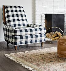 black white buffalo check chairs the vintage rug the regarding black and white chairs black