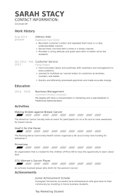 dietary aide resume example dietary aide resume example sarah stacy