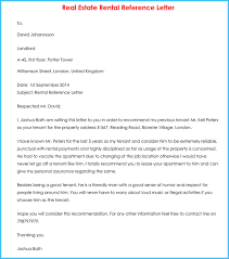Rental References Form Rental Reference Letter 9 Sample Letters Formats And Examples