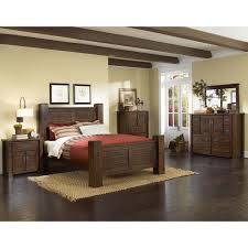 progressive furniture inc. Progressive Furniture Inc Trestlewood Panel Customizable Bedroom Set Throughout