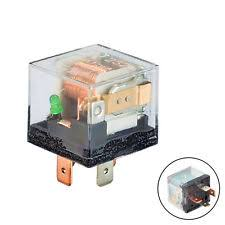 universal relay hs universal auto 12v 80a 80 amp spst relay 4pin 4p fit for car motor truck