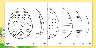 Don't forget to click the next button on the raising our kids. Ks1 Easter Egg Template Coloring Sheets Teacher Made