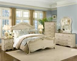 cream bedroom furniture. Standard Furniture Rococo 2 Piece Panel Bedroom Set In Cream M