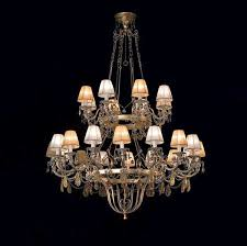 classic chandelier with crystals