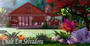 Selvadora chalet at Lily Sims - The Sims 4 Catalog