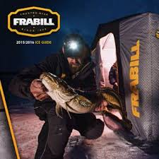Frabill I3 Size Chart Frabill Ice Fishing 2016 Product Guide By Planosynergy Issuu