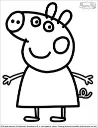 600x804 peppa pig coloring pages winter. Get This Free Peppa Pig Coloring Pages To Print 92990