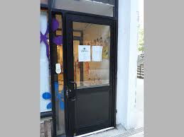 capitol fireproof door aluminum door and frame duronotic half glass bronx ny