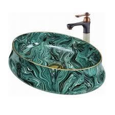vessel sinks for sale. Unique Vessel Green Color Ceramic Bathroom Vessel Sinks Intended Vessel Sinks For Sale H