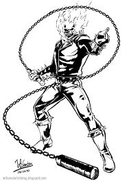 Ghost Rider Artwork Sketch Google Search