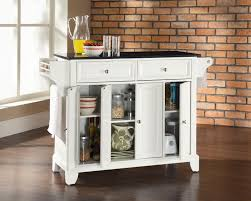 Island For A Small Kitchen Marvelous White Stained Small Kitchen Islands With Storage And