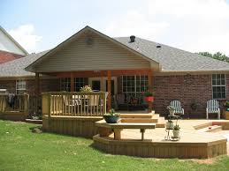 Small Picture Exteriors Small Backyard Deck Patio Designs Ideas With Curved