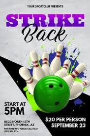 Bowling Event Flyer Bowling Event Flyer Template Magdalene Project Org