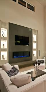 modern fireplace tv electric fireplaces above how to houzz modern fireplace and tv wall