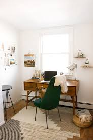 home office makeover. West Elm - Mid-Century Home Office Makeover