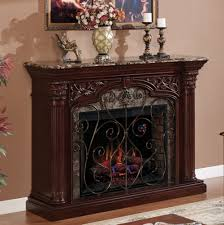 60 astoria empire cherry infrared electric fireplace
