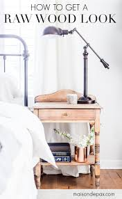 trying to update your vintage antique or dated furniture find out how to get a raw wood look for a fresh modern vibe learn how to do this rustic modern
