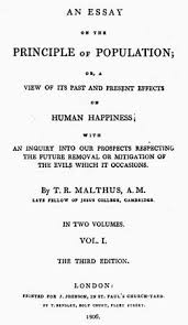 thomas malthus biography theory books facts com title page of an 1806 edition of thomas malthus s an essay on the principle of population