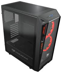 Компьютерный <b>корпус COUGAR Turret</b> Black — купить по ...