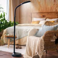 kenley natural daylight floor lamp 12w led dimmable adjule reading light