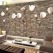 3d mural wallpaper wallpapers flower .